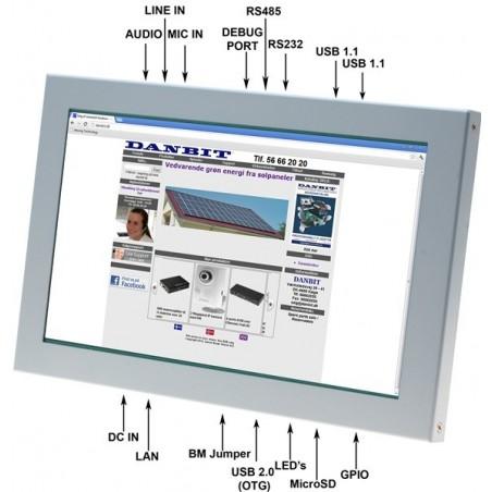 "10.1"" Panel PC m/ WIN CE6.0"