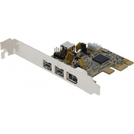 FireWire kort med 3 FireWire 800 og 1 FireWire 400 - PCIE