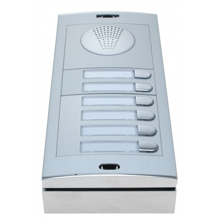 GSM- Dørtelefon, 6 knapper