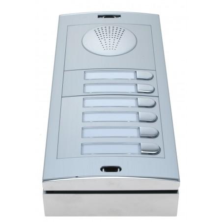 GSM Dørtelefon, 6 knapper/brugere