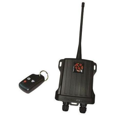 2 kanals sender/ modtager, 230VAC, IP68