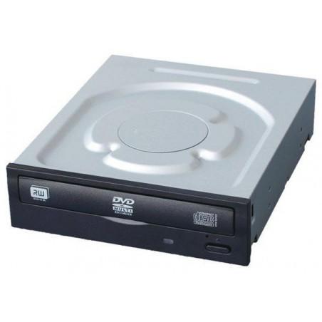 DVD-RW drev, 24x, SATA, med sort front