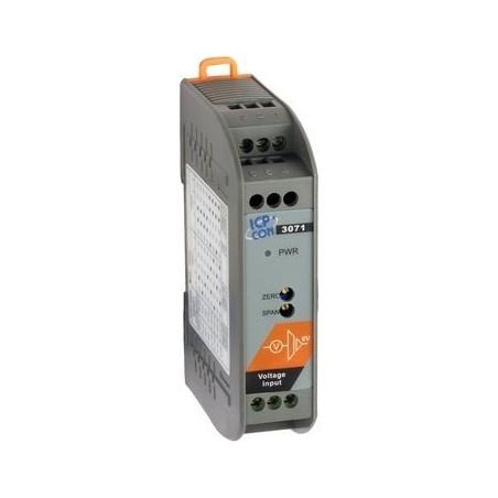 Konverter volt til 0-20mA. Isoleret DC-DC in/ output modul