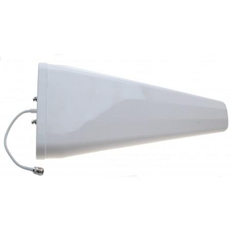 11 dBi LTE logperiodisk YAGI antenne, kabel med N hun, mastebeslag