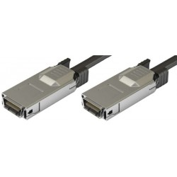 CX4 Infiniband netværkskabel til 10 Gbit, han-han, op til 15m, AWG28, sort, 2,0m