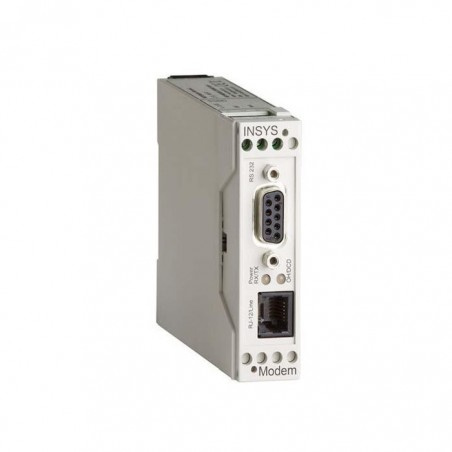 INSYS 56K analogt modem med RS232 interface