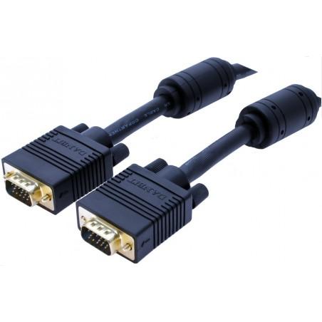 VGA monitorkabler standard og forlænger