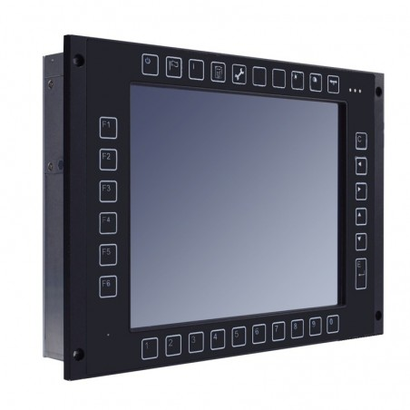"10.4"" Panel PC godkendt til Tog brug, (EN 50155 for railway)"