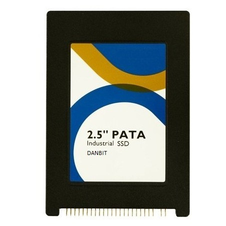 "128GB 2½"" IDE SSD disk 44 pin PATA. Intern IDE harddisk. MLC flash"