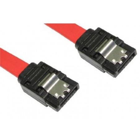 SATA 150/300 kabel med låseclips, 45 cm
