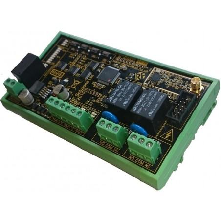 2 kanals trådløst radiomodul, sender og modtager til overførsel af digitale signaler