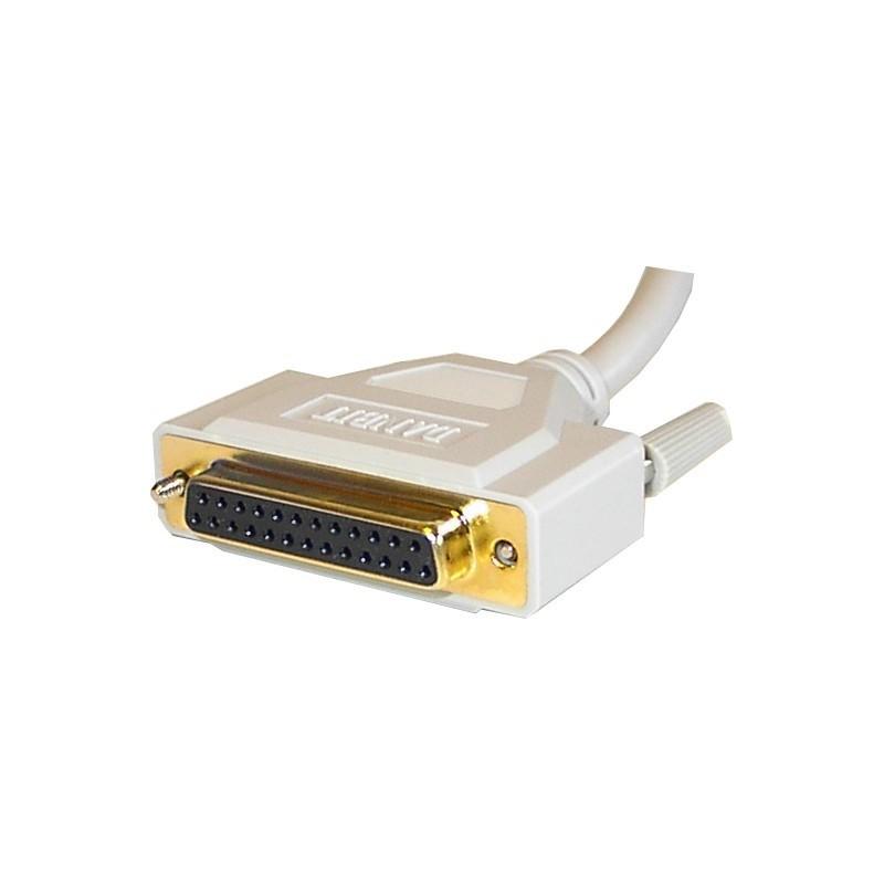 DB25 kabel hun-hun, 10 meter