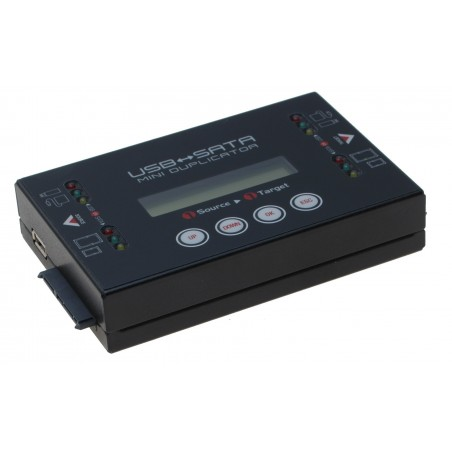 HDD duplikator 1:1 SATA til SATA, USB HDD til SATA/USB HDD Ultra high speed op til 18GB/min. Stand alone