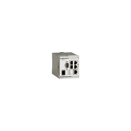 PSTN Industriel Router med 4+1 port switch, RS232, digital I/O, Sandbox, LINUX