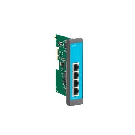 INSYS 4 port 10/100Mbit switch, kort til INSYS-MRX serien
