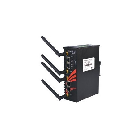 Industriel Wifi, Access Point, Client, Bridge, Repeater, 300Mbps, 2,4GHz / 5GHz, 2 x LAN, DIN-beslag, -10 - + 60°C, 12 - 48VDC