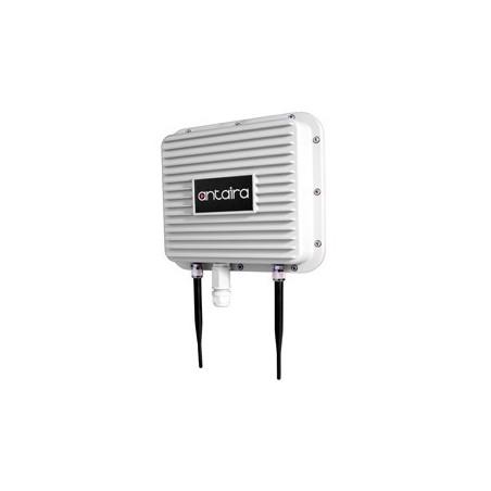Industriel udendørs Wifi, Access Point, Client, Bridge, Repeater, 2,4GHz, IP67 alu, PoE, -20 - +70°C, mastebeslag