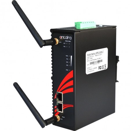 Industriel Wifi Router, 300Mbps, 2,4GHz / 5GHz, Access Point, VPN, DIN-beslag, -35 - +70°C, 12 - 48VDC