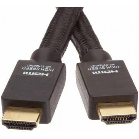 HDMI 2.0 , 4K, High Speed Ethernet kabel med han-han stik, sort, 2,0m