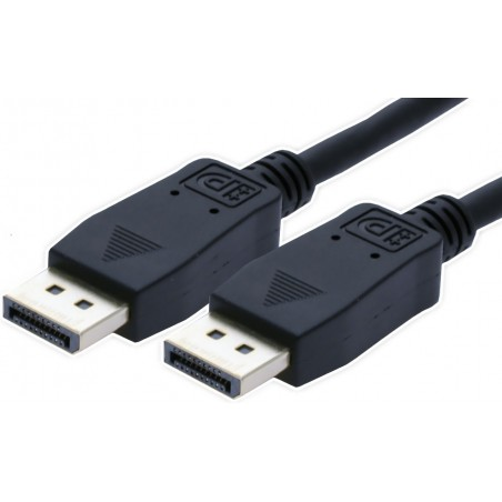 DisplayPort kabel. DP han – DP han, 3m
