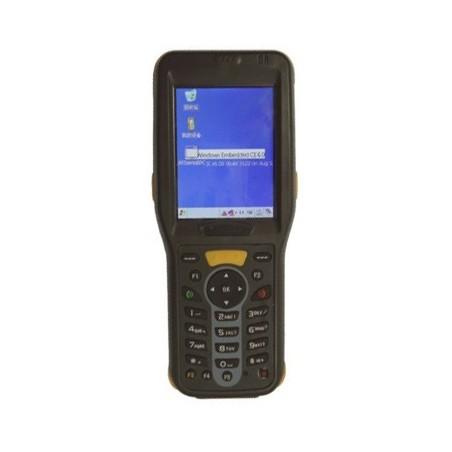 Håndscanner med stregkode og RFID-læser med indbygget GPS, GSM og WiFi