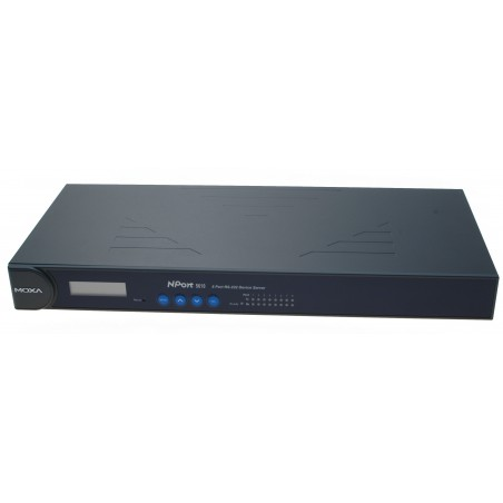 8 ports serielportserver med 8 x RS232. MOXA N-Port NP-5610- 8. Serial Device Server