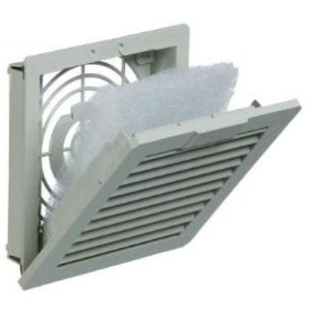 EMC filter til intern køler. EFAE200R5 EMC exhaust filter 126 x 126, IP54