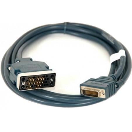 Kabel til Cisco router. CAB-V35MT Cisco Compatible LFH60 Male to V35 Male DTE Cable, Grå, 3,0 m