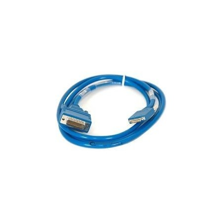 Cisco RS232 seriel kabel CAB-SS-X21MT - Smart Serial to DB15 Female DCE Cable, blå, 3,0m