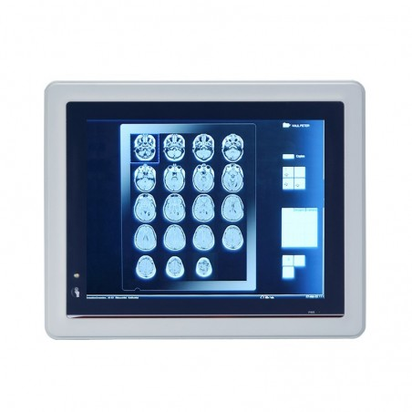 10.4 Panel PC medico godkendt EN 60601-1, IP65 tæt front. CPU N3060 2.48 GHz Fanless