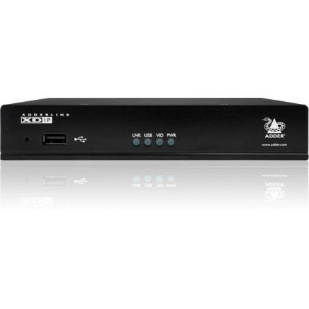 HDMI KVM extender over IP med lyd og USB
