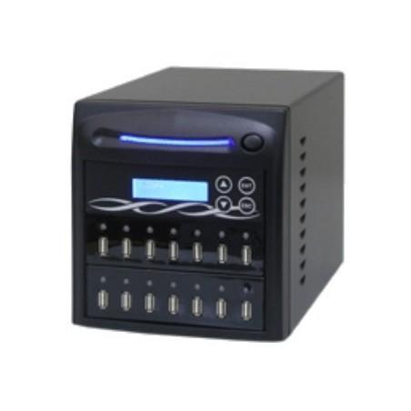 Hurtig og sikker kopiering af 1 master USB hukommelses-stick til 13 tomme, samtidig