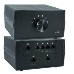 Black Box 6-ports manuel...