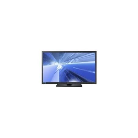 """23"""" Monitor 1920 x 1080 TFT med LED back light, med Fod, Displayport, DVI-D, VGA, 2 x USB HUB"""
