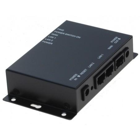 """Fjernbetjent tænd og sluk DC spænding via netværket - """"IP pingwatchdog"""" til auto-reset af udstyr - 12VDC/2A"""