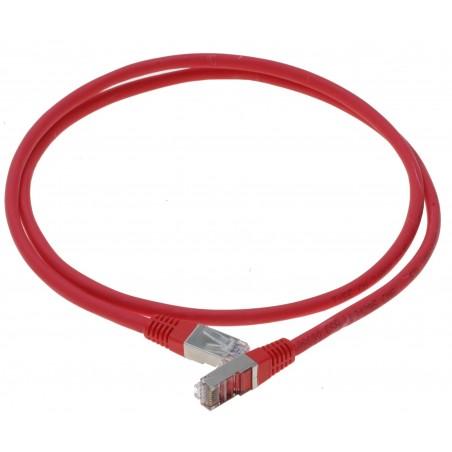Cat. 6 netværkskabel, RJ45, STP, AWG28, rød, 20m