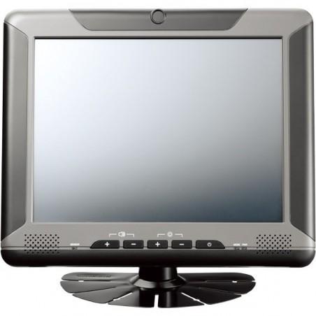 """8"""" TFT LCD USB touchscreen monitor med VGA input, velegnet til køretøjer, -20 til +60°"""
