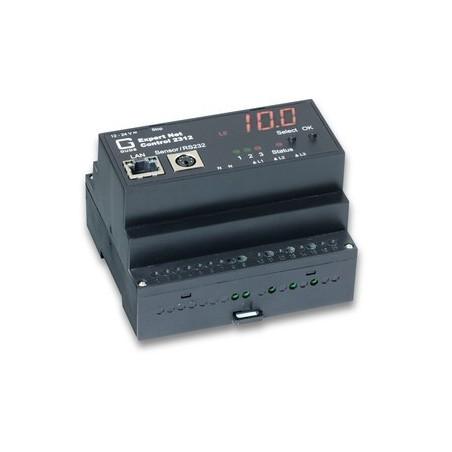 Avanceret fjern-monitorering og -kontrol over netværk, 1 x sensorindgang, 3 x slutterelæ udgange, Watchdog