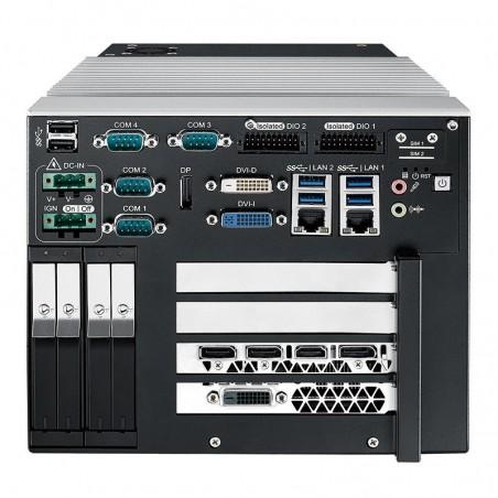 Industri PC, i7 processor, x DVI, 1 HDMI, 4 displayport, 2 x GigE LAN