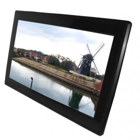 "15.6"" IP66 Panel TFT-LED touch skærm, capacitive touch, læsbar i sollys, VGA"