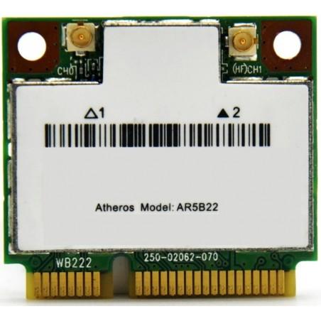 Atheros brand internal wireless 2.4GHz + 5GHz, bluetooth 4.0 PCI-Express micro card