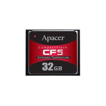 32GB Industrielt CF kort, MLC, Udvidet temperatur område -40℃ ~ 85℃