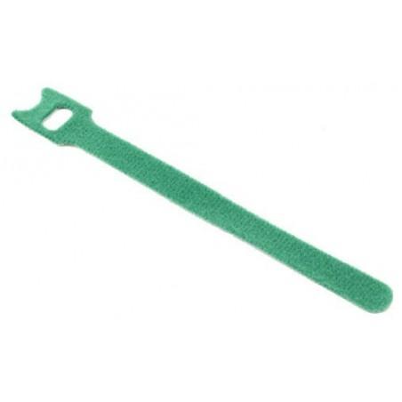 Velcro kabel strips, kabelbinder, burrebånd, 12 x 150 mm, grøn