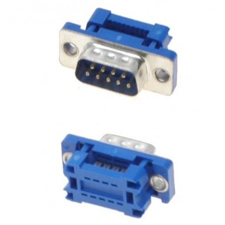 9 pin D-SUB DB9 han til IDC fladkabel adapter/ samlestik