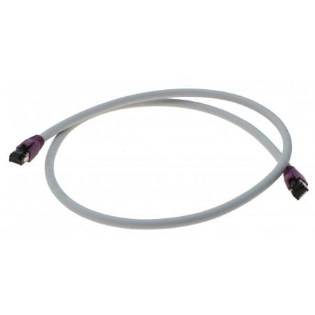 Cat. 8 netværkskabel, RJ45, S/FTP - PiMF, LSZH, 25/40G Base-T, 2000 MHz, grå, 5,0m