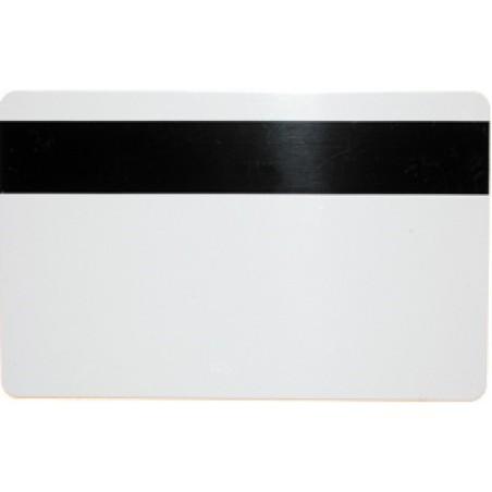 Magnetkort med HiCo magnetstribe. ISO kortstørrelse, hvide. Fås også med tryk.