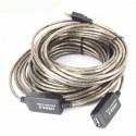 Forlængerkabel til USB2. Tilslut USB 2.0 enheder 12 meter fra pc'en
