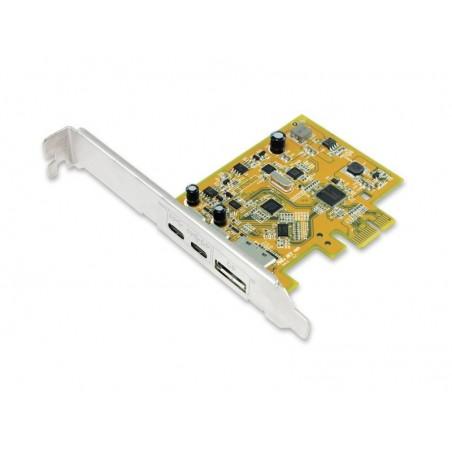 USB 3.1 Dual Port USB-C PCI Express kort, 4K (2160p)