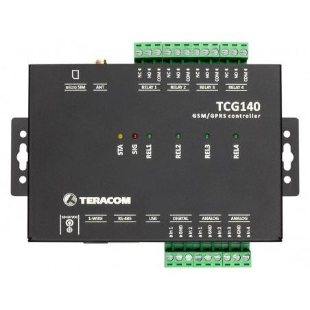 GSM-GPRS fjernkontrol I/O modul, datalogger, Analog, Digital, Relæ, MODBUS