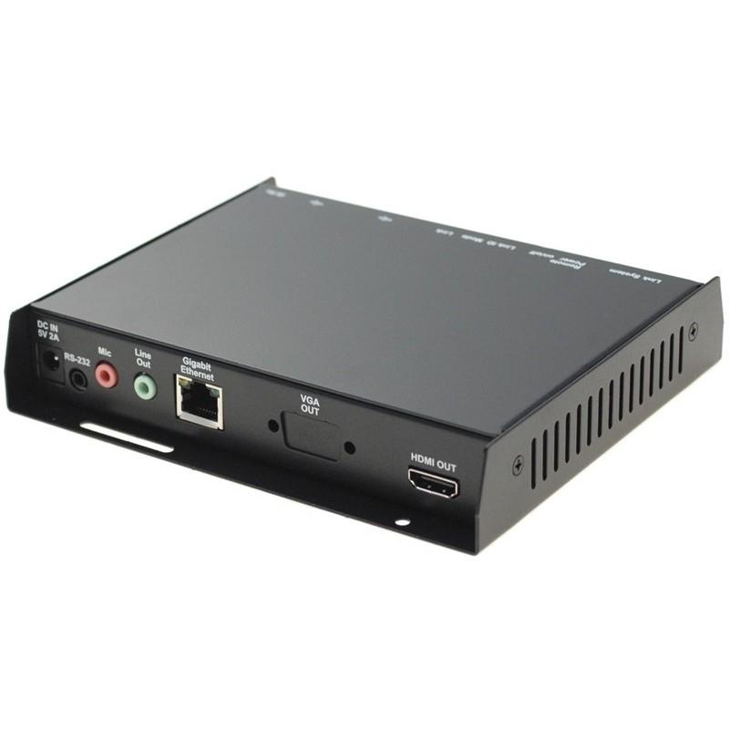 KVM Extender - modtager - HDMI, USB, over netværket